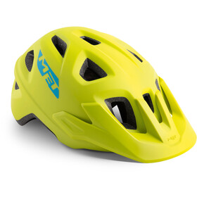 MET Eldar Helm Kinder lime green